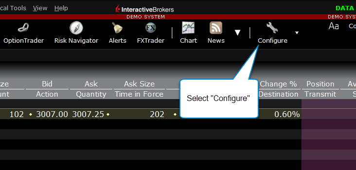 Interactive Brokers Connection – MotiveWave Support